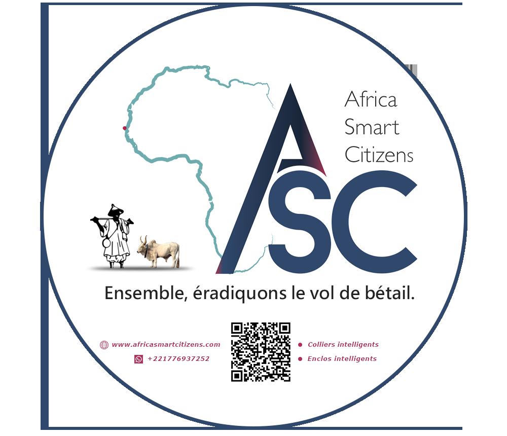 Le logo de africa smart citizens